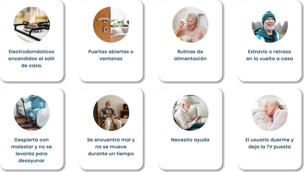 Casos de uso para personas mayores