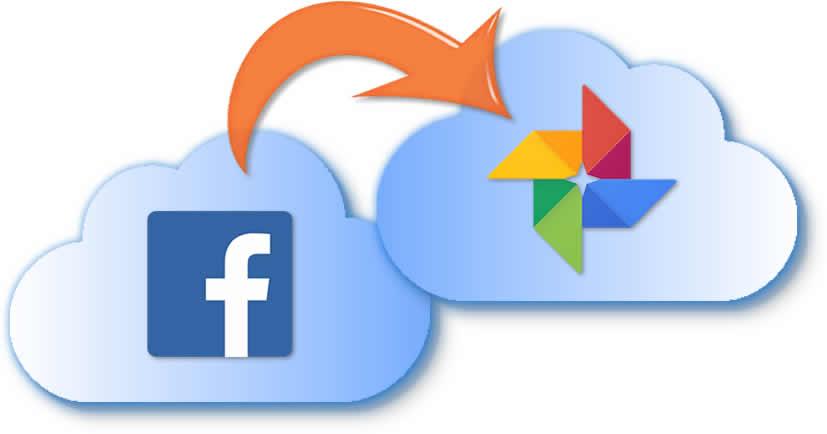 De nube Facebook a nube Google Fotos