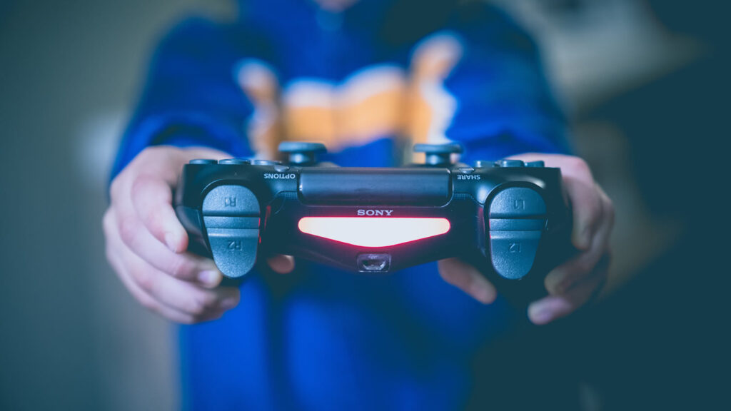 Mando de videojuego