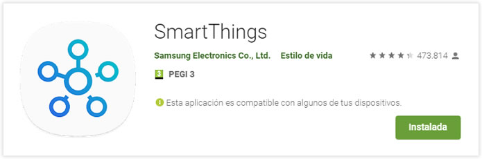 App SmartThings