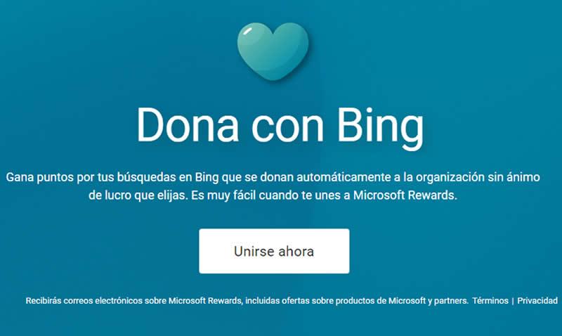 Dona con Bing