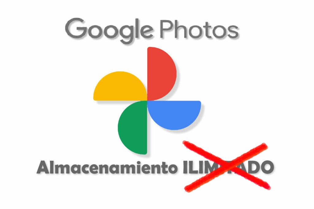 Google Fotos ya no es ilimitado